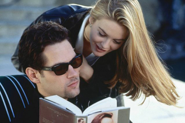 'Clueless': this 1995 rom-com based on Jane Austen's novel 'Emma' set the agenda for fashion, romance and comedy in that decade and is still as funny, fresh and relevant today. A masterpiece of rom-com movie-making starring the gorgeous Alicia Silverstone and hilarious Paul Rudd.