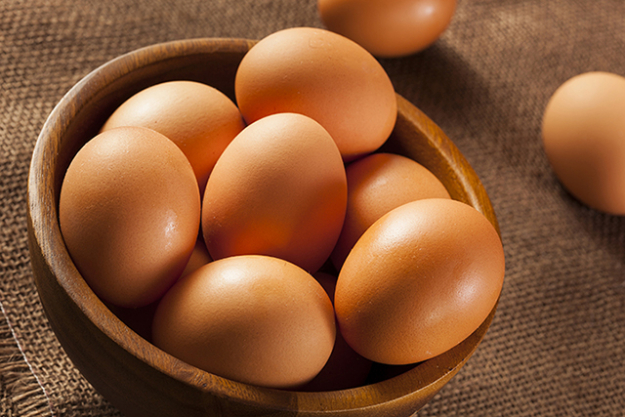 Fave foods: eggs because they're full of minerals, vitamins and good fats. I have at least two eggs a day and they are great for a quick snack on the run. Also necessary for baking scrumptious cakes.