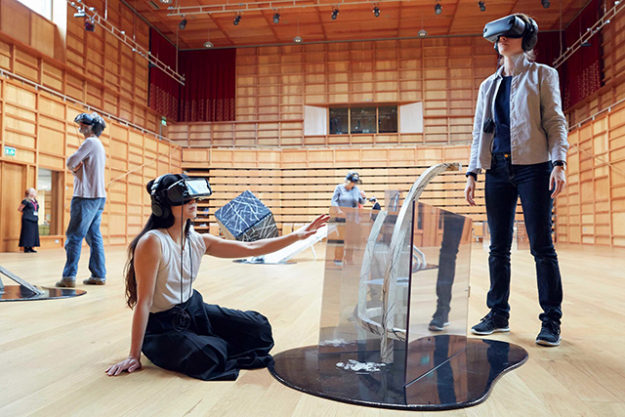 Sydney Festival 'Whist', 6 – 28 January 2018: an immersive VR theatre experience taking participants inside a fictional family's minds (image: Carriageworks)