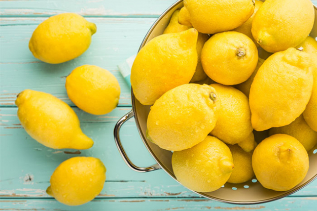 Lemons: A light and refreshing salad dressing option rich in vitamin C or simply squeeze into water to encourage adequate water intake.