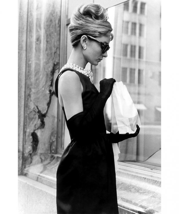 Audrey Hepburn wears Givenchy in 'Breakfast at Tiffany's'