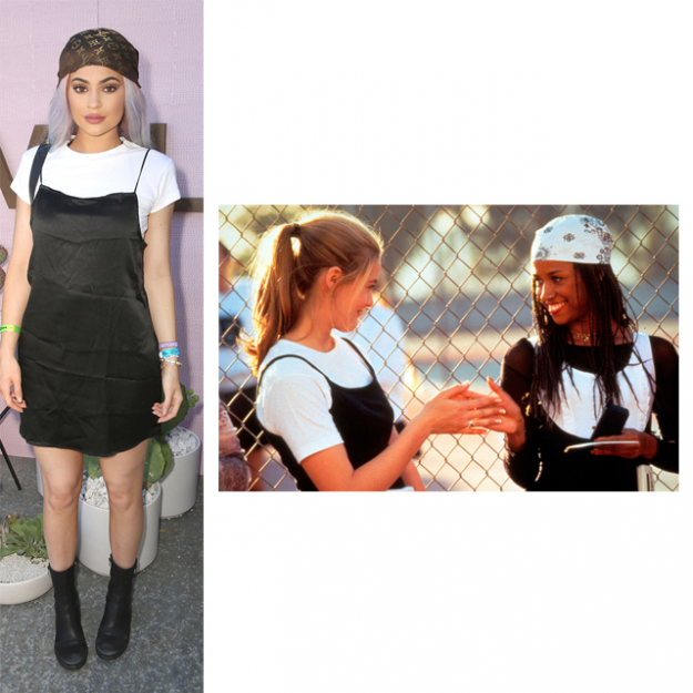 Kylie Jenner combines the style of Cher and Dionne from 90s cult classic, Clueless