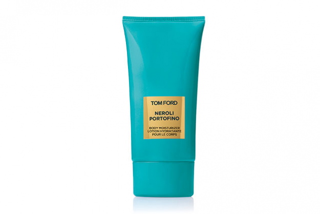 Tom Ford Neroli Portifino Body Moisturiser, $115: It's the ultimate tropical getaway scent; bergamot, orange, lemon, neroli and amber presented in a luscious body lotion that will keep your skin feeling supple for hours.