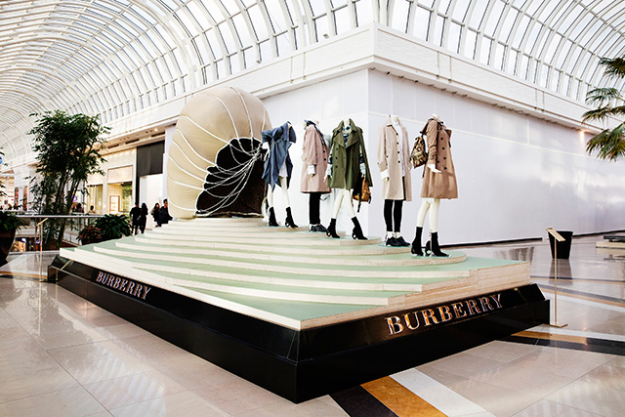 Burberry celebrates the history and evolution of its trench coat in Melbourne