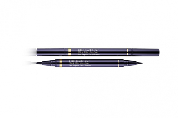 "Eyeliner: Estee Lauder Little Black Liner. ""This liner is the the longest lasting liner I've come across. I use it daily"""