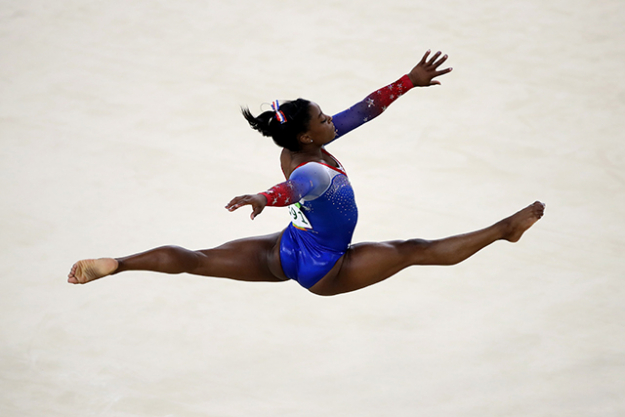 Simone Biles: Already a superstar in the gymnastics world, Rio 2016 made Simone Biles' name go global. The 19-year-old, 4ft 8in pocket rocket took home 5 gold medals, the first American gymnast to do so.