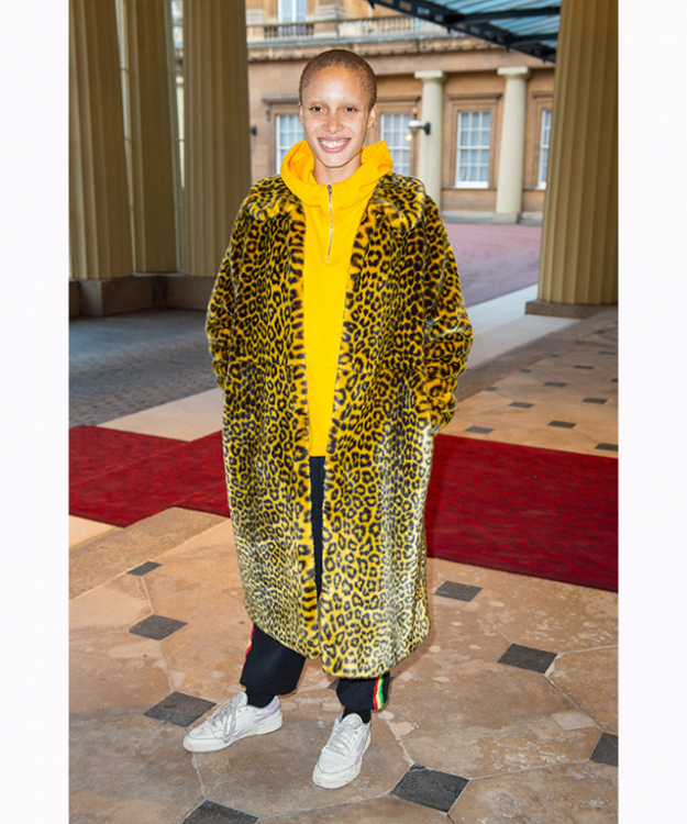 "Adwoa Aboah: British fashion model and feminist activist Adwoa Aboah appeared on the cover of American Vogue this year, alongside Liu Wen, Ashley Graham, Kendall Jenner, Gigi Hadid, Imaan Hammam, and Vittoria Ceretti. The freckle-faced model walked for Chanel, Marc Jacobs and Christian Dior on the International Fashion Month circuit and  was named British GQ's Woman of the Year this year.<p><a target=""_blank"" href=""https://www.instagram.com/adwoaaboah/?hl=en"">@adowaaboah</a></p>"