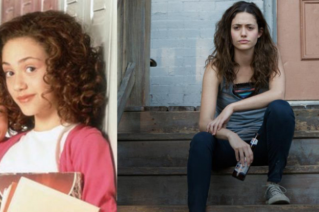 EMMY ROSSUM; Disney production: Genius. Turning point: Starring in controversial TV series, Shameless.