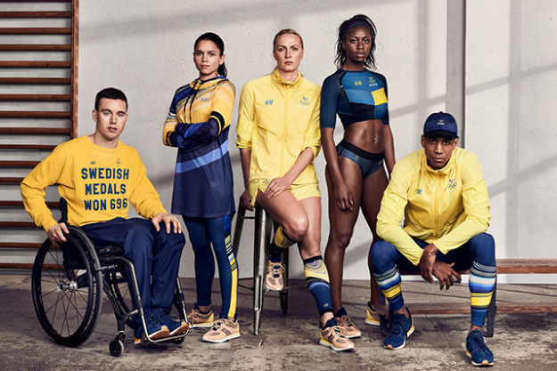 H&M x Swedish Olympic Team: When the Swedish high street meets elite athleticism, this is the showstopping result.