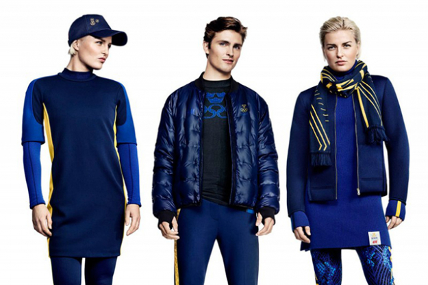 H&M x Swedish Olympic Team: 2014 Sochi Olympics showed strong fashion game from the Swedes.