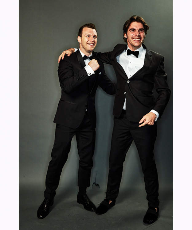 Jeff Horn and RJ Mitte