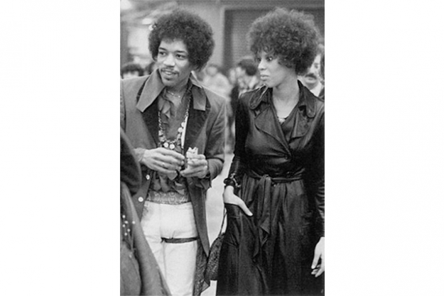 Jimi Hendrix and Devon Wilson.  Former prostitute and fashion model, Devon Wilson met Jimi Hendrix in 1965 in New York, where they began an on-again, off-again relationship. While it's supposedly well known that the 1970 death of guitarist Jimi Hendrix was caused by an overdose of barbiturates, rumours have swirled in recent years that Devon, described as a 'troubled soul with a penchant for drug abuse' made him a cup of coffee and put a tablespoon of heroin in it which caused the overdose. Wilson was so overtaken with grief that she 'tried to throw herself into the open grave' at Hendrix's funeral. The following year, Wilson 'plunged to her death out of a ninth-floor window at the Chelsea.'