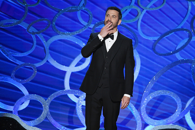 "The host: Imagine trying to make a room of the most self-absorbed, Botoxed-to-immobility, coked-up people on the planet laugh. Now, add the fact that you're not allowed to swear and go anywhere near the topics of sex and ethnicity. This year, late-night talk show host Jimmy Kimmel is sipping from this most poisonous of chalices. Best of luck to him. The sentence to drop: ""I just don't feel Kimmel taps into the zeitgeist like Ellen did."""