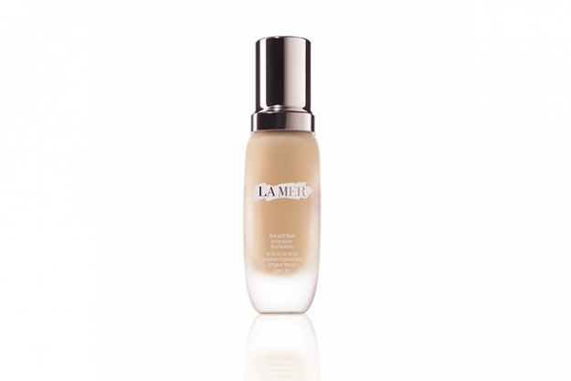 La Mer, Soft Fluid Long Wear Foundation SPF 20, $200: this luxurious foundation instantly boosts radiance and leaves your complexion looking smoother, brighter and spot-free. It's infused with the signature La Mer Miracle Broth, so expect your skin to transform even when you're not wearing it.
