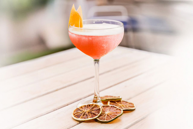 Pelicano, Double Bay: Pelicano has introduced two styles of frosé to their already mouth-watering menu – one is a mixture of rosé, crushed watermelon and lemon and strawberry syrup, the other is a lemon frosé mixed with orange bitters.