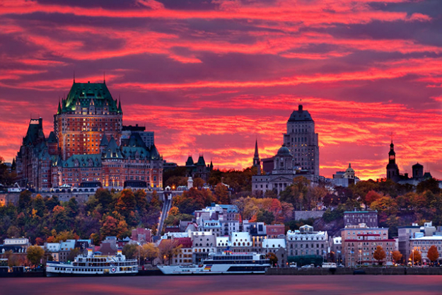 Québec: Québec city and the surrounding area are a must-visit for the Francophile. Stunning European architecture dominates the city, which is surrounded by some seriously amazing natural beauty like the Montmorency Falls.