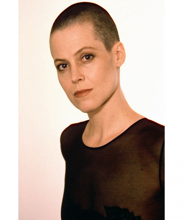 Sigourney Weaver famously shaved her head for 'Alien 3', where she was said to be paid a whopping $4 mill to do so.