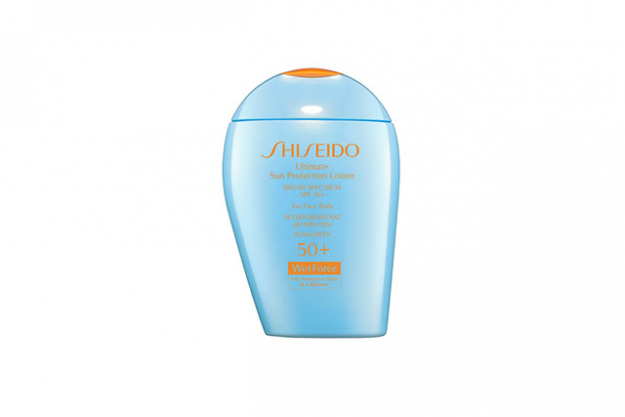 Sensitive skin: look for mineral sunscreens that are fragrance and preservative free, and avoid ingredients like PABA or oxybenzone. Shiseido, Ultimate Sun Protection Lotion WetForce for Sensitive Skin and Children