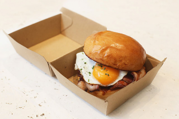 Single Origin café CBD Bacon and egg roll $9.50: For the office enthusiasts on their way to work – never miss breakfast again with this golden roll. Perfectly fried egg, bacon and BBQ sauce; this one is made for the lovers of the classic combo.