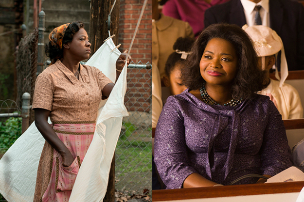 "Best supporting actress: Yes, our Nicole gets a look in for her grace, strength and hideous perm in 'Lion', but this is a two horse race between Viola Davis ('Fences') and Octavia Spencer ('Hidden Figures').  Michelle Williams was magnificent in 'Manchester By Sea' as was Naomie Harris in 'Moonlight', but they just both had the misfortune to be in a category featuring two of the strongest performances in decades. And which happen to tap into the current questions about whether America is or was ever the land of opportunity for all. Sentence to drop: ""Viola Davis and Octavia Spencer both starred in 'The Help' in 2011. So did Emma Stone."""