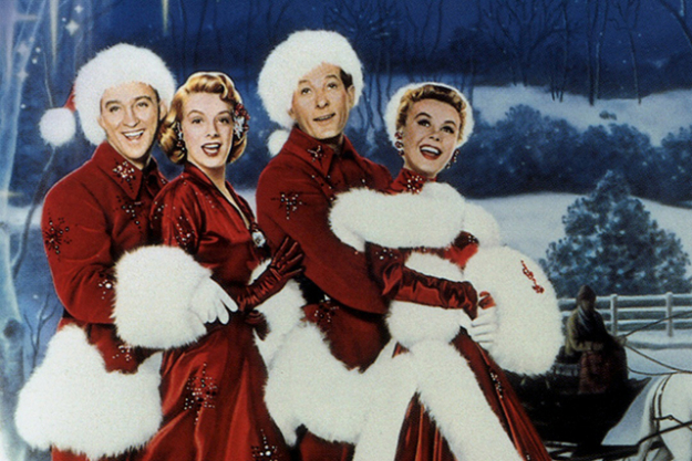 White Christmas (1954): starring Bing Crosby and Danny Kaye and featuring Crosby's reprise of 'White Christmas' which went on to become the bestselling single of all time.