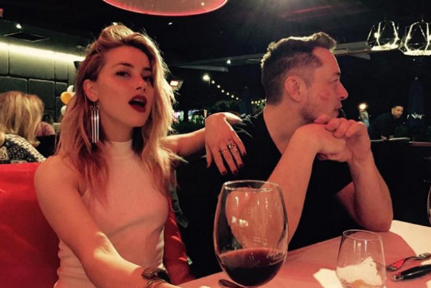 Elon Musk and Amber Heard: A short-lived romance; the couple started dating in April this year and broke up in August.