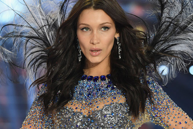 Bella Hadid: 2016 was Bella Hadid made her official mark in the modelling world. The younger sister to Gigi Hadid became British GQ's model of the year - and for great reason. She's graced the covers of multiple mastheads in the last couple of months for the likes of Vogue, Harper's Bazaar and Elle, and made her debut on the Victoria's Secret runway earlier this month.
