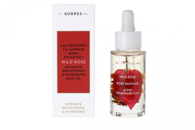 Korres Wild Rose Advanced Btrightening & Nourshing Face Oil, $79 mecca.com.au