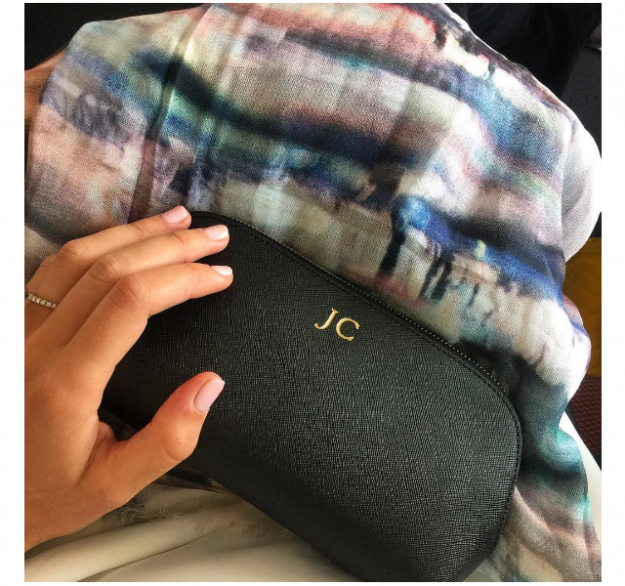 Make-up bag: The Daily Edited with my customised initials on it, they are so great to travel with and if you happen to ever misplace them there is no confusion as to who they belong to!