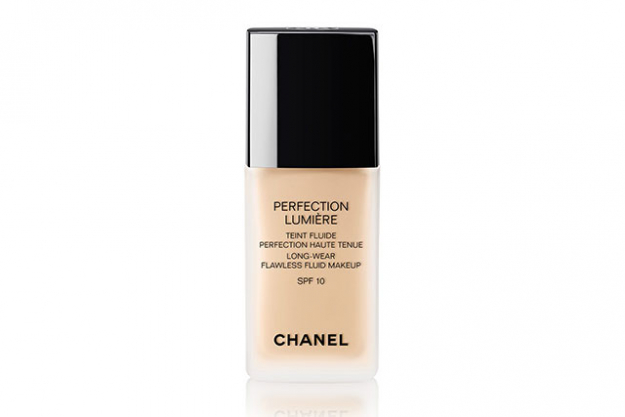 Chanel Perfection Lumiere Long-Wear Flawless fluid make-up SPF 10, $91 myer.com.au