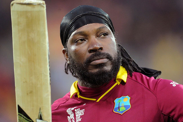 8. Chris Gayle