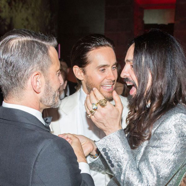 After-partying at the MET Gala with Marc Jacobs.