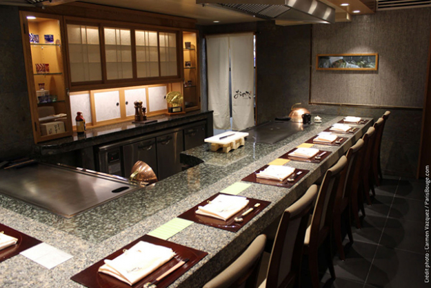 "2. Restaurant: ""Onodera – it's a Japanese place in Paris."""