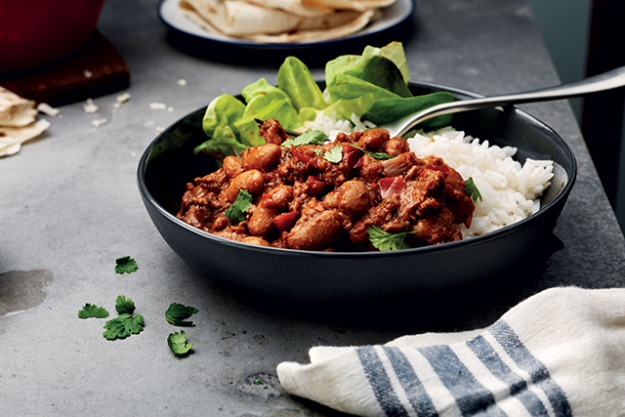 "3. All-time fave meal: ""Chilli con Carne."""