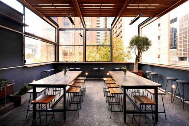 Bomba: well worth a visit all year round thanks to its retractable roof (a must with Melbourne's temperamental weather), Spanish bar Bomba delivers a fresh take on tapas, from cheesy manchego croquettes to chorizo sliders.