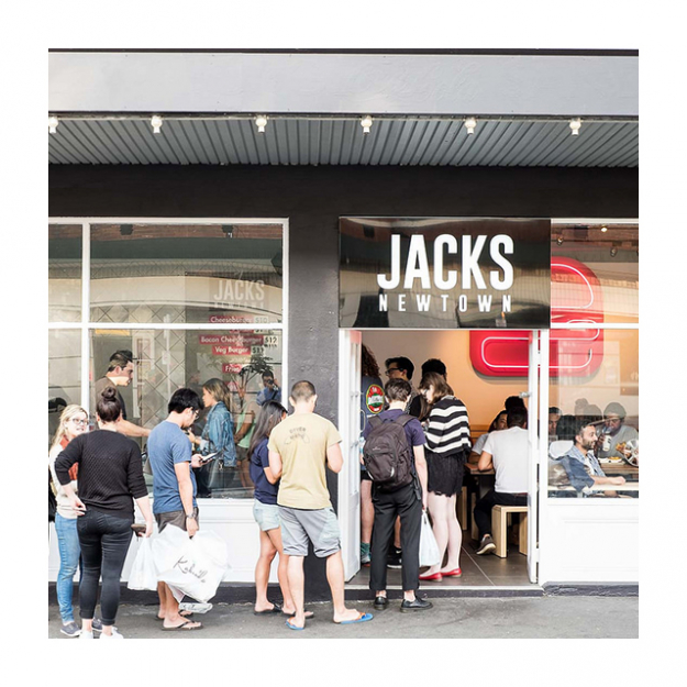 "They only do four burgers – a classic, a cheese, a cheese and bacon and a veg – but my, don't they do them well. Fun fact: uber providores Vic's meats have custom made the mince mix. 170 Missenden Road, Newtown<p><a target=""_blank"" href=""http://jacksnewtown.com/"">jacksnewtown.com</a>&nbsp;</p>"