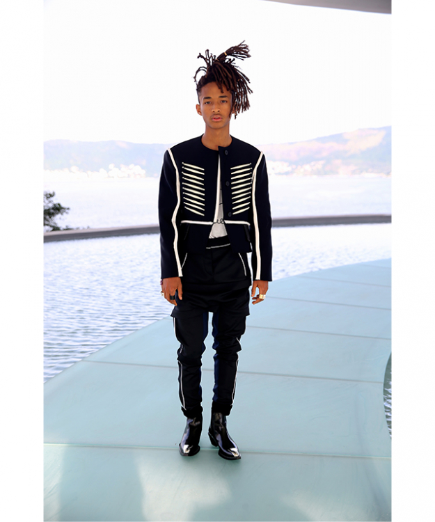 Louis Vuitton face Jaden Smith