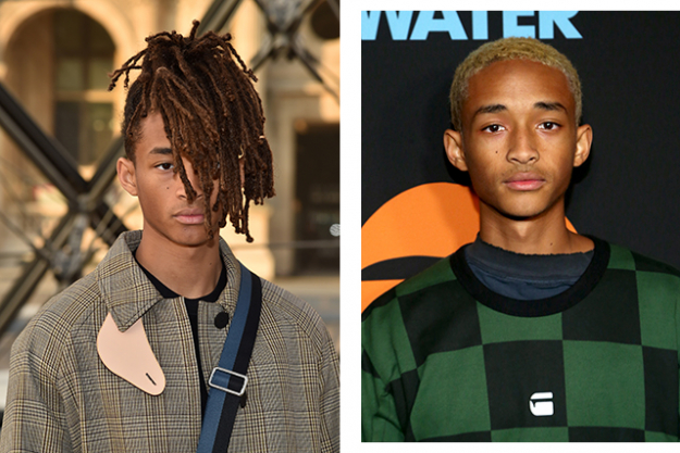 Jaden Smith cut off his dreadlocks and famously brought them along with him to the Met Gala.