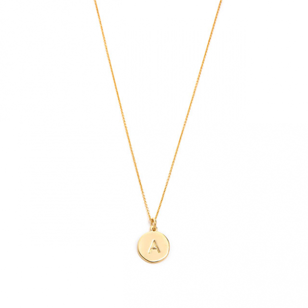 Kate Spade Letter Necklace, $73, shopbop.com