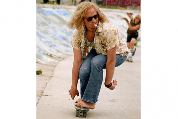 Lords of Dogtown, 2005: Though only appearing in a cameo, Heath stole the show as pioneering skateboard designer Skip Engblom.