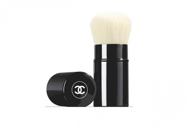 For even powder: Chanel Les Beiges Retractable Kabuki Brush, $70