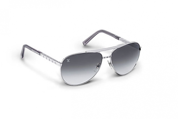 The sunglasses: The Attitude Pilote sunglasses, $775, by Louis Vuitton, au.louisvuitton.com, are a welcome spin on the aviator with the iconic brand's Damier pattern adding subtle detail.