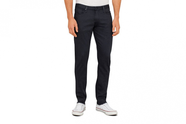 The jeans: Slim without being skinny, sitting on the waist and with two per cent elastane for a touch of stretch, the Armani J06 Slim Fit Jeans, $195.30, shopdavidjones.com.au, look just as good with a crisp white shirt as they do with a t-shirt. A wardrobe staple.