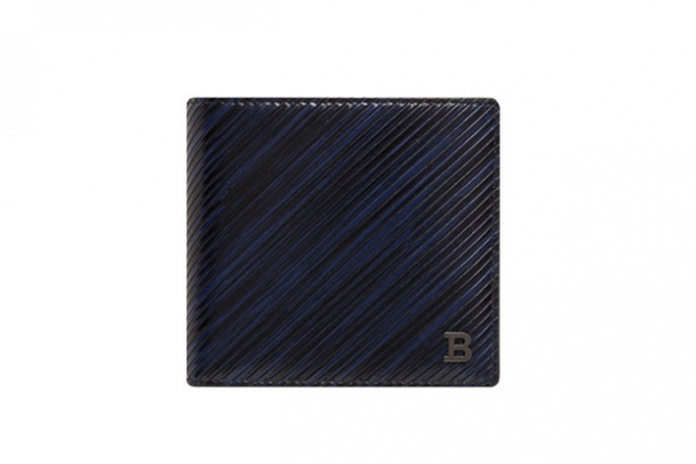 The wallet: This is an item that men use daily and one that will remind him of you every time he utilises the ATM or public transport. The Bally B Leather 8CC Billfold Wallet, $299, shopdavidjones.com.au, is made from grained goat leather that will become softer and more supple with age while the blue and black motif is undeniably masculine.
