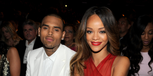 Rihanna & Chris Brown: Way before she kicked him to the curb, Rihanna collaborated with ex Chris Brown on the song 'Counterfeit' in 2015 following their much-publicised break up two years before.