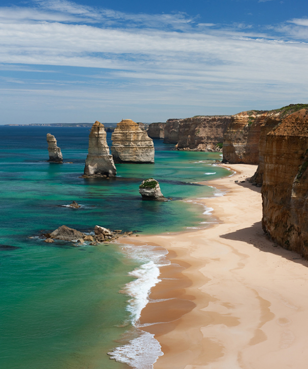 MINI MOON: Forget the far-flung destination, couples are doing weekend breaks to nearby hot spots, such as Victoria's Great Ocean Road, saving a big trip for later in the year.