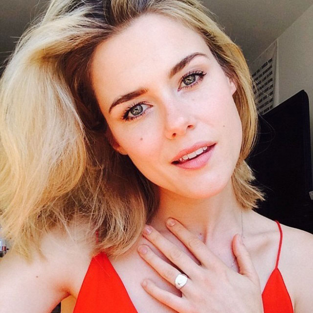 "Rachael Taylor<p>Speaking to <i>The Daily Mail</i>&nbsp;Taylor stated: ""I see all Australians as an open hearted, open minded bunch of people, with that in mind I think all of us deserve equal rights when it comes to whether or not we marry each other.""</p>"