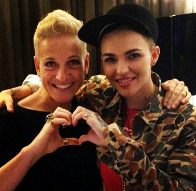 "Ruby Rose<p>In an interview with <i>Cosmopolitan </i>Ruby Rose stated:&nbsp;<span>&ldquo;For me, marriage is more about equal rights than the act of getting married. When you don&rsquo;t have equal rights, it trickles down to kids who think, My aunt&rsquo;s gay so she can&rsquo;t get married, or I&rsquo;m weird because I feel the same way. So it&rsquo;s important to break down that barrier.""</span></p>"