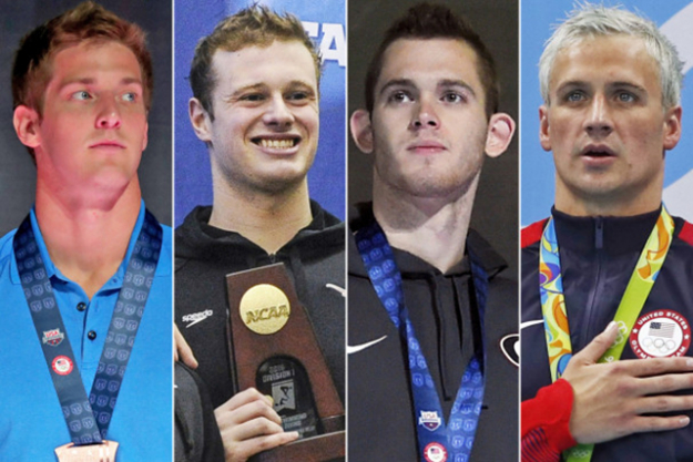 US Swimmers faking robbery: What happens when athletes get to unwind after four years of hard training for an Olympic Games? They have one hell of a blow out and get into trouble. None more so than American swimmers Ryan Lochte, Gunnar Bentz, Jack Conger and Jimmy Feigen. After letting off some steam and taking on some caipirinhas they announced that they were held up at gun point and robbed. An international crisis began to brew when the athletes' stories contained some inconsistencies. It later emerged that it was in fact the athletes who had vandalised a petrol station toilet and were held by a security guard until they paid for the damage. Que the world media listing all of the reasons they dislike Americans.