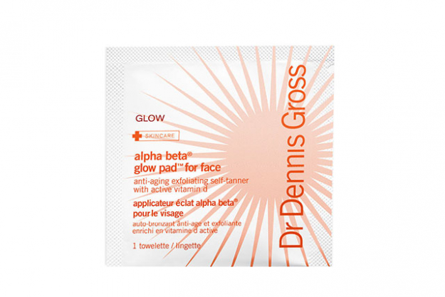 Exfoliation is key for your skin in winter to rid any dry skin cells and replenish a lacklustre-looking mug. Try Dr. Dennis Gross Alpha Beta Glow Pads, $50 - they replenish skin with a shy hint of tan.